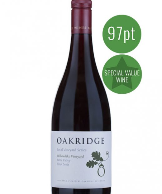 Oak Ridge Local Vineyard Series Willow Lake Pinot Noir 2015