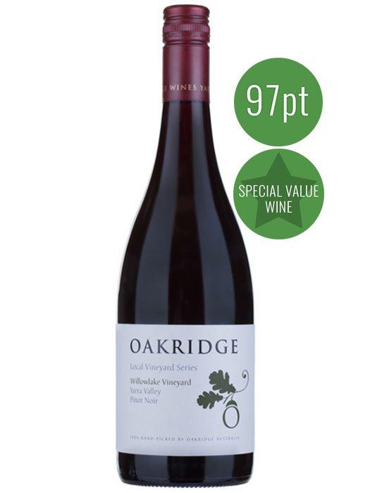 Oak Ridge Local Vineyard Series Willow Lake Pinot Noir 2015