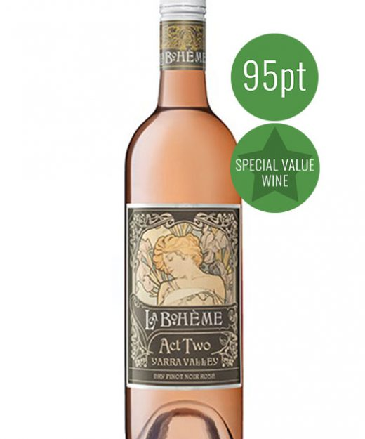 La Boheme Act Two Dry Pinot Noir Rose 2017