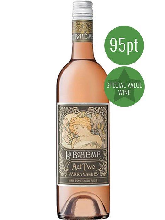 La Boheme Act Two Dry Pinot Noir Rose 2017