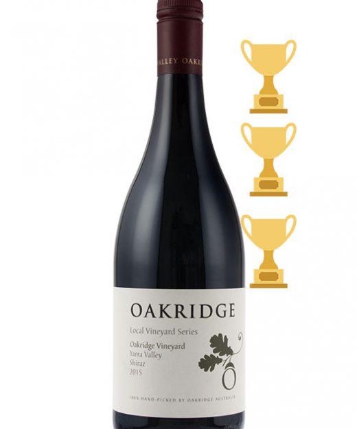 Oakridge LVS Shiraz 2015