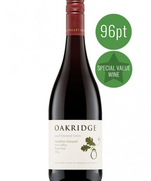Oakridge Hazeldene Vineyard Pinot Noir 2016